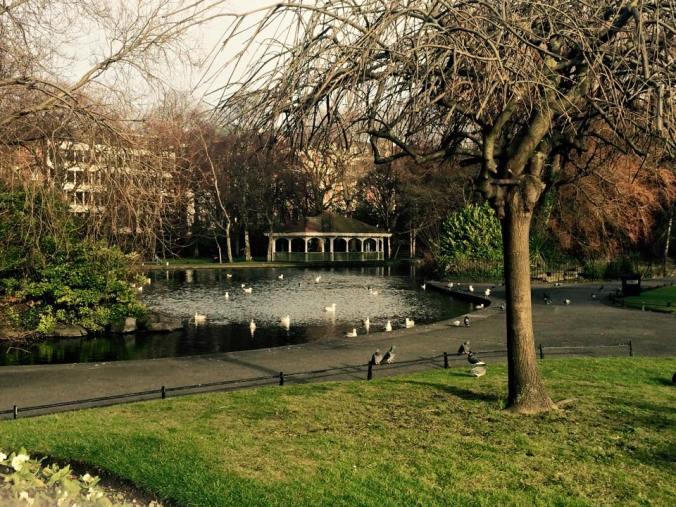 St Stephen's Green Park