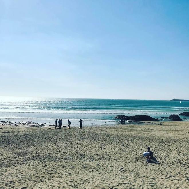 L'océan à Porto