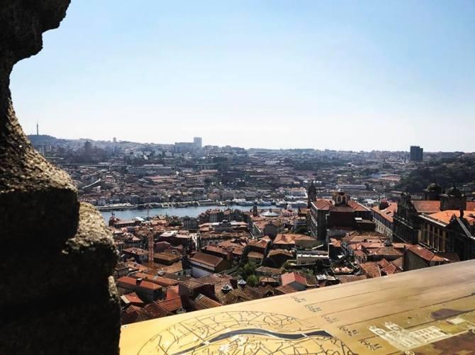 Vue depuis la Torre dos clérigos