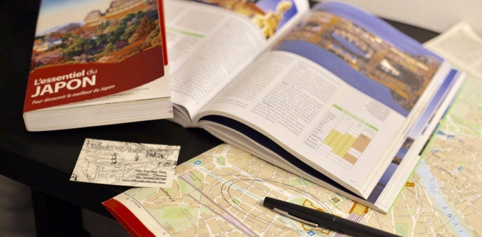Organiser son itinéraire de voyage