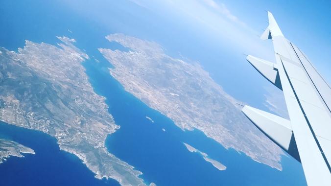 Vol en plein ciel