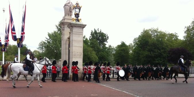 Relève de la garde Buckingham Palace
