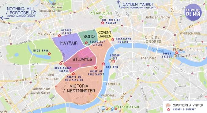 Quartiers de Londres