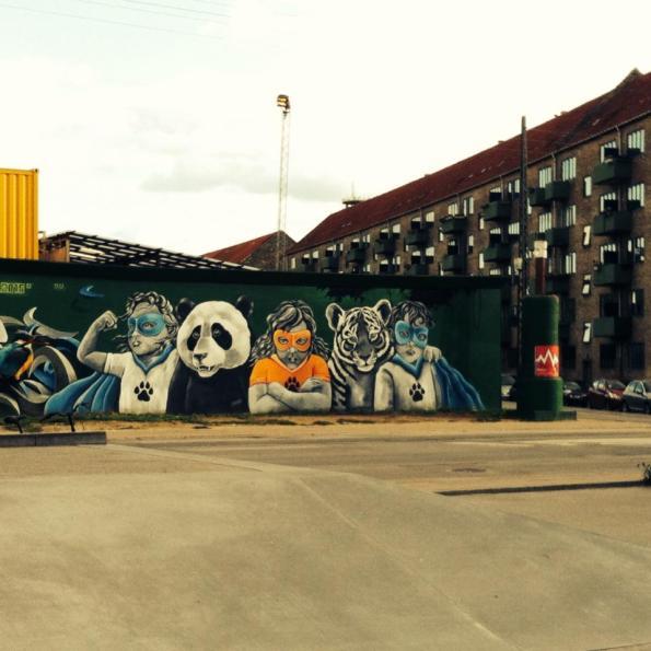 Copenhague street art