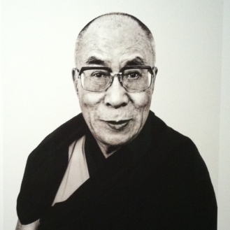 Dalai Lama, expo photo Stockholm