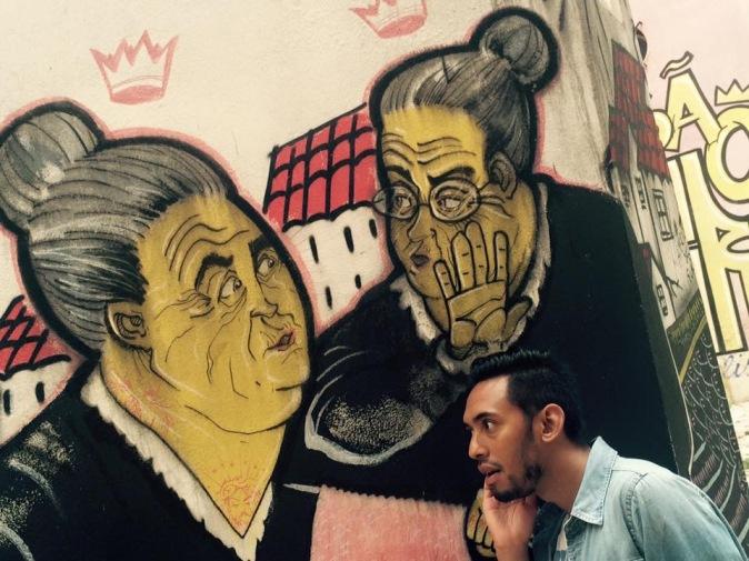 fresque à Lisbonne