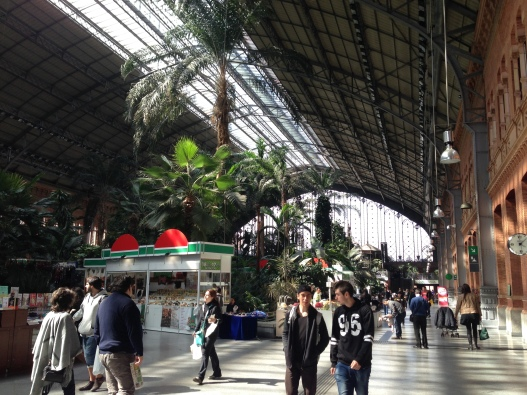 Gare d'Atocha Madrid