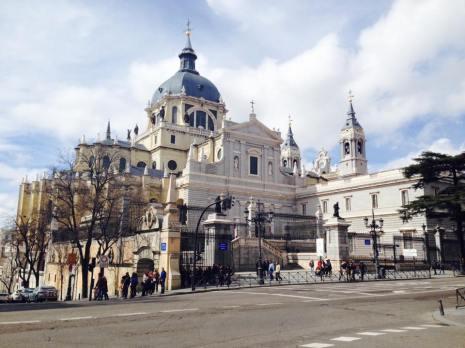 La cathédrale Almudena