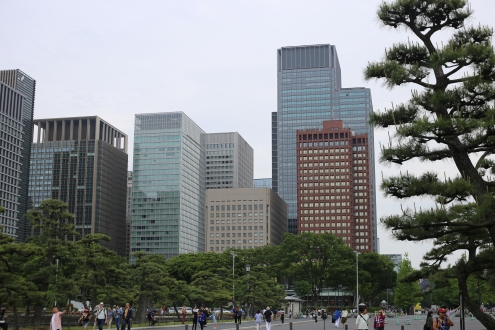Buildings du quartier Marunouchi