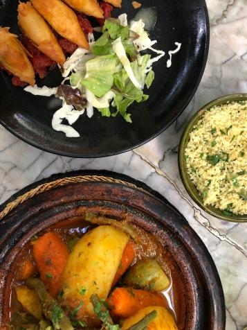 Restaurant Le Jardin, en plein souk de Marrakech