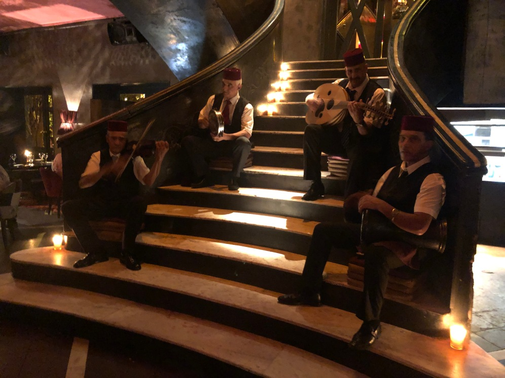 Les musiciens du Comptoir Darna