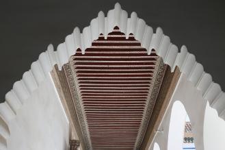 """L'intérieur du """"Palais de la Bahia"""""""