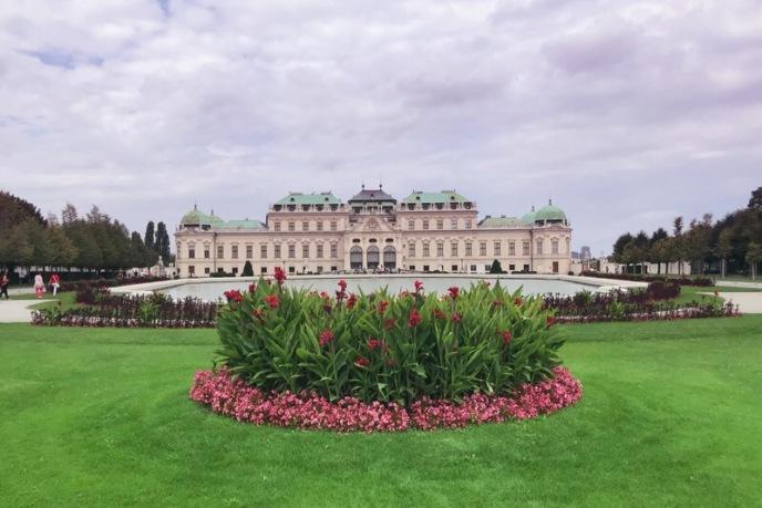 Les jardins du Musée du Belvédère