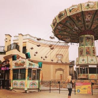 Chaises volantes du Prater de Vienne