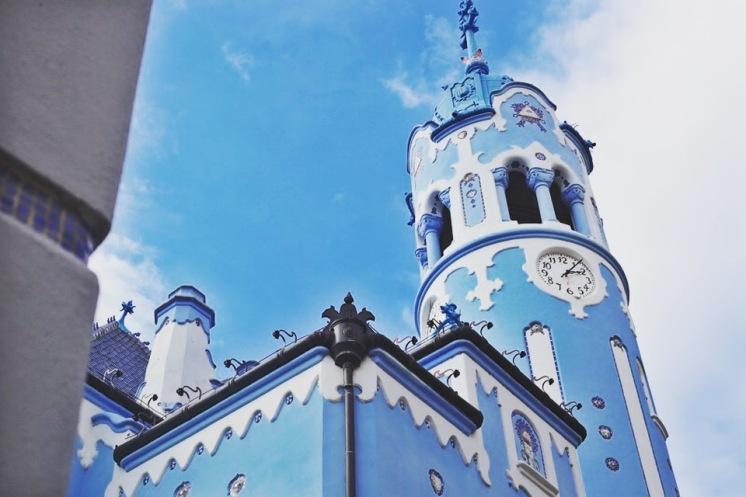Eglise bleue Saint-Elizabeth de Bratislava