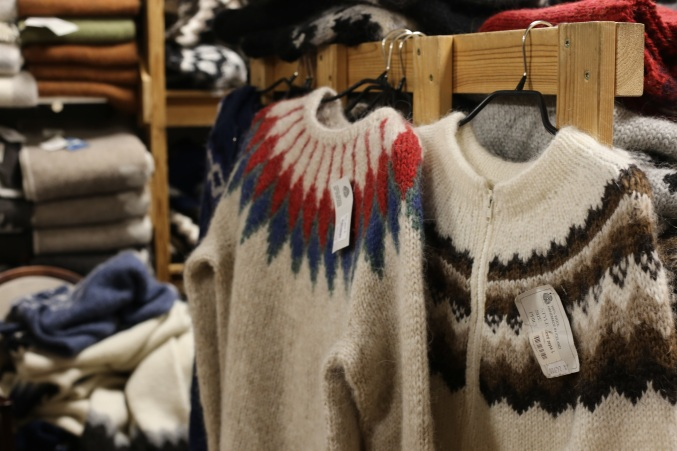 pull traditionnel Islande (les mamies tricoteuses)