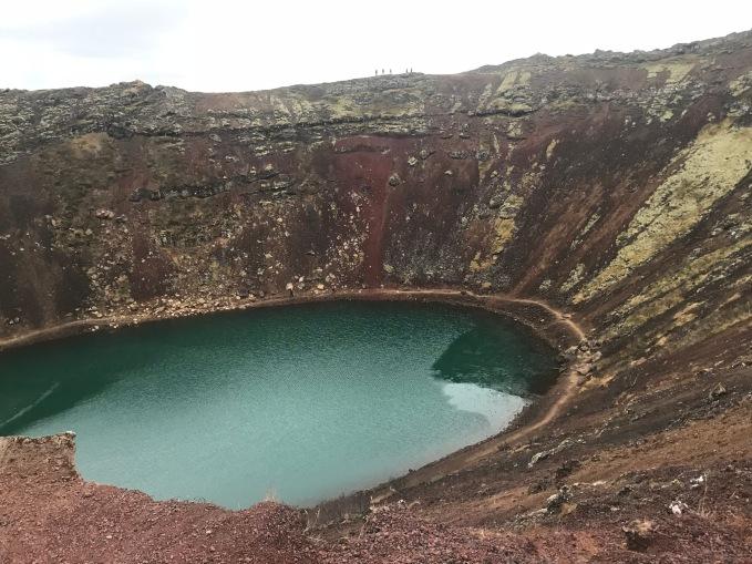 Kerið (cratère volcanique)