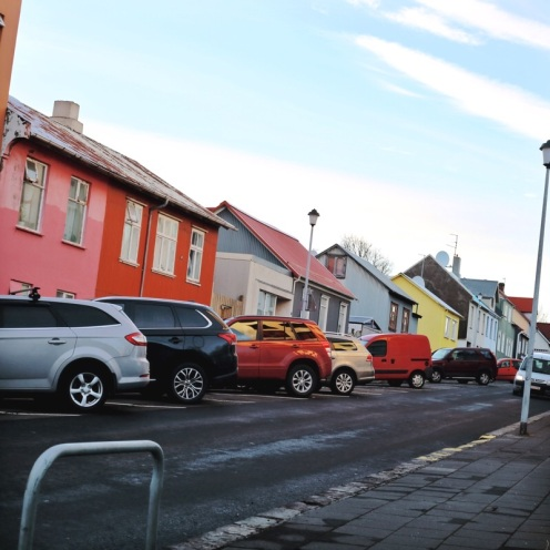 Balade dans Reykjavík