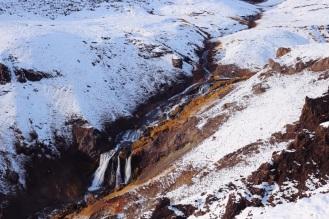 En route pour la source d'eau chaude de Reykjadalur