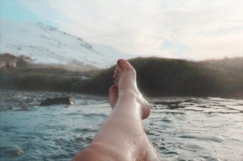 Sources d'eau chaude Reykjadalur