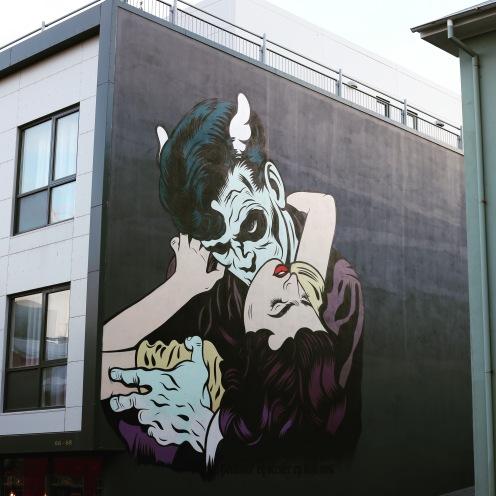 Street art à Reykjavík