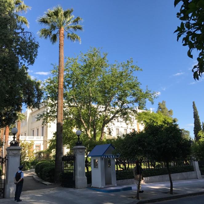 Parlement Athènes
