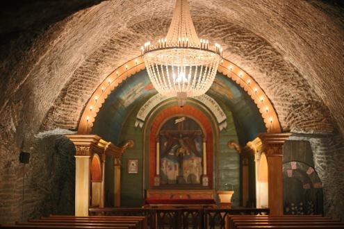 Chapelle Saint-Jean des Mines de sel de Wieliczka