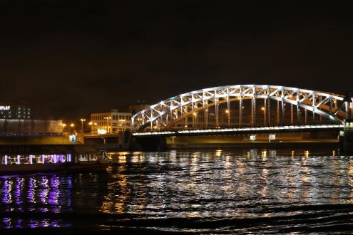 Pont Bolchevique (Bolsheokhtinsky Most)