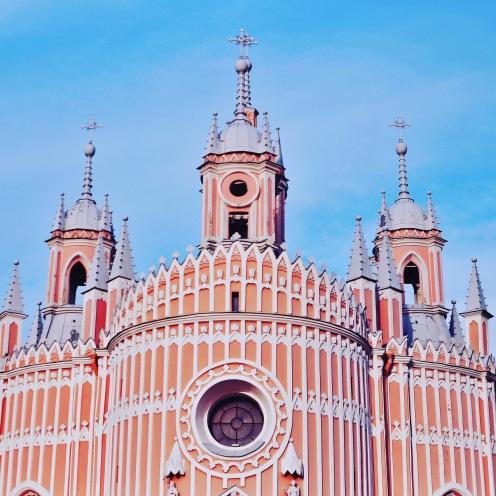 Eglise de Tchesmé (Ulitsa Lensoveta, 12)