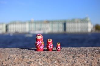 Photo souvenir de St-Petersbourg