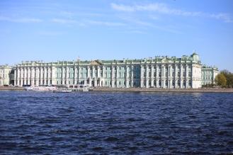 Le musée de l'Ermitage de St-Petersbourg