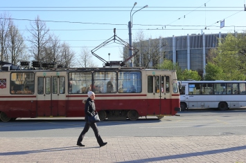 Tram St-Petersbourg
