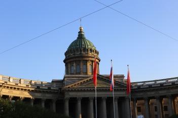 Cathédrale Notre-Dame de Kazan (St-Petersbourg)