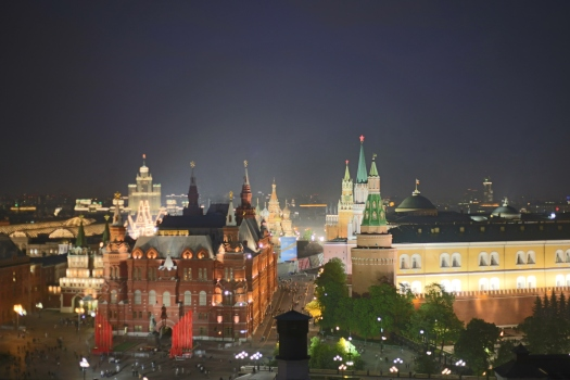 O2 Lounge rooftop Moscou