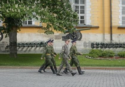 Les soldats du Kremlin