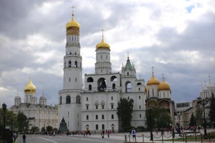 Clocher d'Ivan le Grand du Kremlin à Moscou