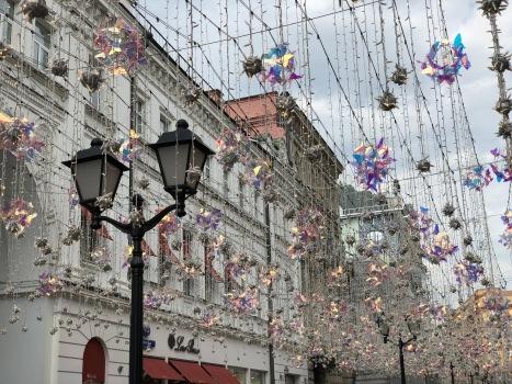 Rue Nikolskaya Moscou