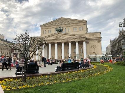 Le Théâtre Bolchoï de Moscou