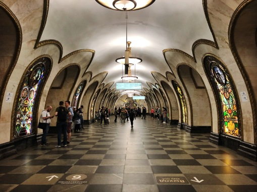 Station Novoslobodskaïa