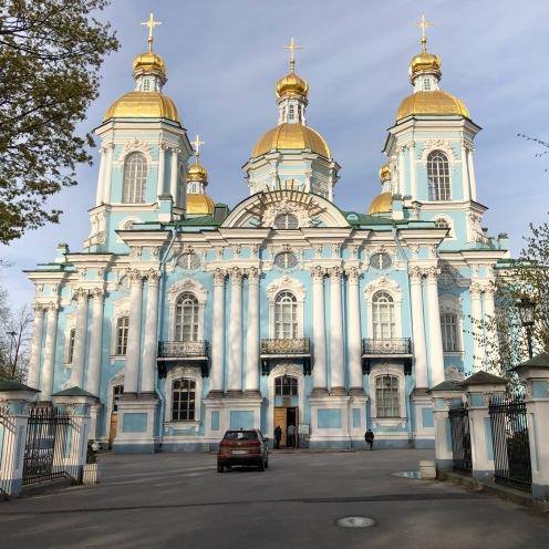 Cathédrale St-Nicolas des marins (Nikol'skaya Ploshchad', 1/3)