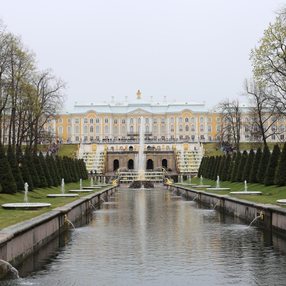 Les fontaines de Peterhof