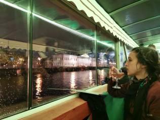Balade sur la Neva by night (excursion Astra marine)