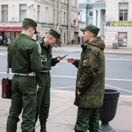 Shooting de rue à St-Petersbourg