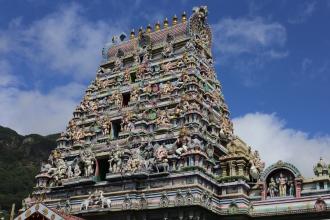 Le temple indien de Victoria (Arul Mihu Navasakthi Vinayagar Temple) - Mahé