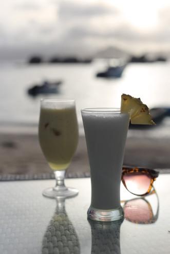 Fish & Trap, restaurant en bord de plage la Digue - Seychelles