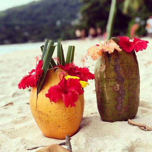 Coconut juice - Seychelles