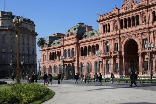 La Casa Rosada, siège du gouvernement Argentin