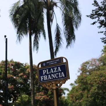 Plaza Francia de Buenos Aires