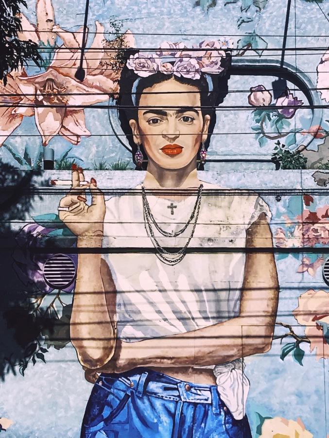 Frida Kahlo rue Dorrego, Palermo Buenos Aires