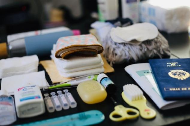 checklist sac à langer bébé